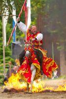 Ritterfestspiele auf historischer Wasserburg Burg Satzvey bei Köln. Bildquelle: Mike Göhre