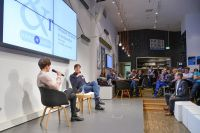young + restless ist das Netzwerktreffen für Young Professionals in Berlin.  Foto: Henrik Andree