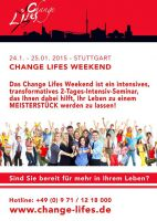 Change Lifes Weekend