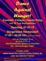 "ZUMBA® Fitness Charity Party zu Gunsten der ""Herrschinger Tafel"""