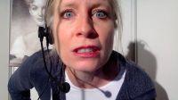 """Verena Bill als Eva im Theaterthriller """"Der Anruf"""", Foto: Theater"""