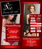 """Neueröffnung """"Sie - Dessous und mehr"""" in Buxtehude"""