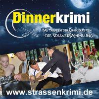 Straßenkrimi präsentiert den Dinnerkrimi in Oldenburg - Humorvolles Krimidinner zum Mitmachen