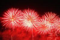 Ein Feuerwerk zur Abiparty
