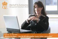 """""""Richtig kündigen - wie Sie als Arbeitgeber teure Fehler vermeiden"""" - Hamburg - 22. April 2016"""