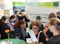 Erste bbw Arbeitgebermesse für das Hotel- und Gaststättengewerbe im Berliner Haus der Wirtschaft