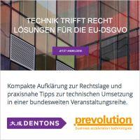 Schneller Überblick über die rechtlichen und technischen Herausforderungen der DSGVO