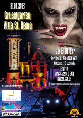 Halloween-Event Dresden 2015