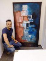 Alessandro Barbarossa: Von Rom nach Hamburg-Altona; der Maler wird seine Kunst zeigen