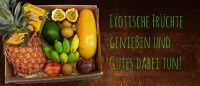 Die Bio&Fair Exotenbox-bewusstes Genießen!