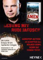 Rudi Jagusch liest aus Amen bei topDentis Cologne