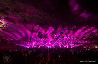 LPS Lasershow Flammende Sterne 2018, Ostfildern. Bild: Ron Spizak