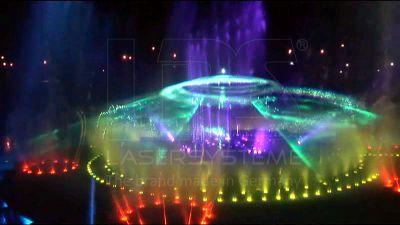 Wasserspiele mit LPS Lasershows in Andong, Südkorea