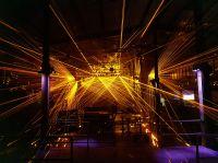 Lasershows im LKA mit Spike Laserprojektoren und LPS Laser Array Scanner Bars in RGB (kurz LASB). Photo: LPS-Lsersysteme
