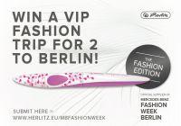 Mit dem Herlitz my.pen style VIP FASHION TRIP nach Berlin gewinnen!