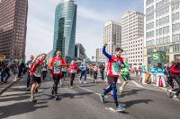Ausschnitt vom 36' Berliner Halbmarathon mit Teilnehmern der Incentive-Reise