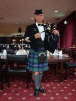 Pipe Major Ronnie Bromhead