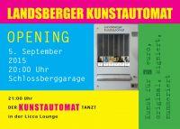 Opening Landsberger Kunstautomat