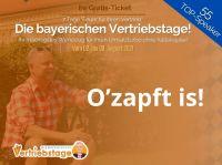 """O'zapft is! """"Die bayerischen Vertriebstage"""" von Uwe Rieder sind bereit!"""
