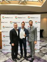 Shannon Hyland (CEO Radius Travel), René Proske (Geschäftsführer Proske GmbH), Kieran Hartwell (CCO Radius Travel (v.l.n.r.)