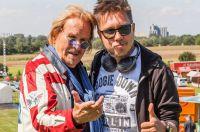 Frank Zander und DJ Tomekk