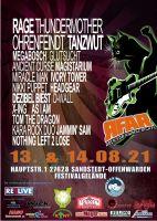 Rock for Animal Rights Open Air Festival in Sandstedt/ Offenwarden am 13. und 14. August 2021