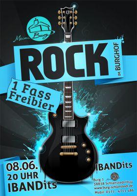 Rock im Burghof - Burg Schlanstedt