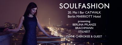 SOULFASHION – Mode auf die Ohren - Bar CATWALK im Berlin MARRIOTT Hotel
