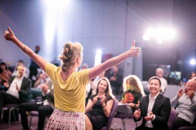 Speakers Slam,Weltrekord in Berlin, Petra Darshan Kolitsch, Rede am 18.9.2020