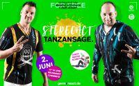 DJ Rick und DJ Rixx von Stereoact werben für die Stereoact Livemusic & Artperformance am 2. Juni 2016 in Chmenitz