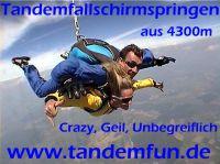 Tandem-Fallschirmspringen mit Tandemfun in Skydive Klatovy
