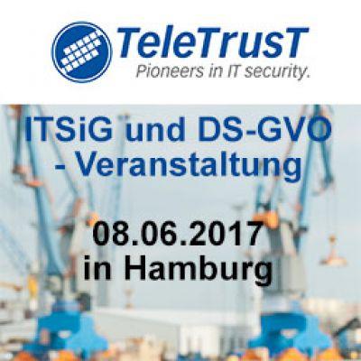 DS-GVO und IT-SiG Veranstaltung