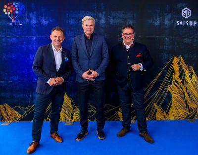 Gerold Wolfarth, Oliver Kahn und Bernhard Schindler