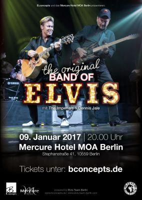 Legenden des Rock'n Roll live on stage