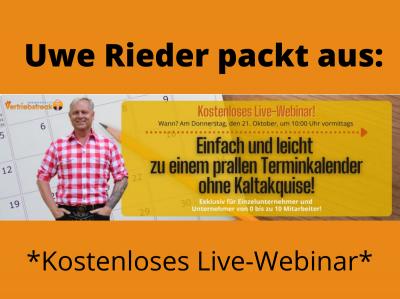 Uwe Rieder Der bayerische Vertriebsfreak