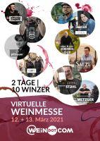 Veranstaltungstipp: Virtuelle Weinmesse – 2 Tage | 10 Winzer