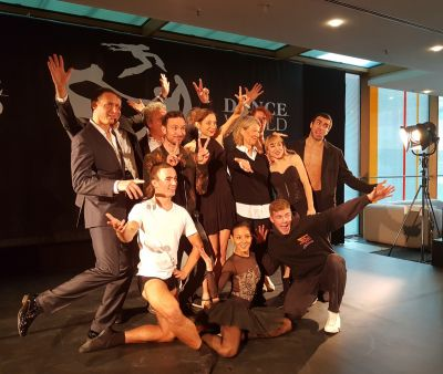 """Veranstalter und Tänzer der neuen Tanzmesse """"Dance World"""""""