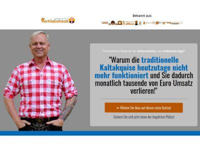 Uwe Rieder Der bayerische Vertriebsfreak Webinar Kaltakquise ade