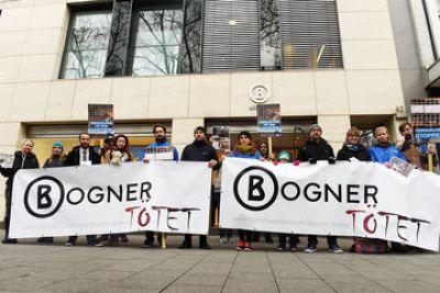 27.01.2016 Pressetermin vor Bogner-Filiale in Köln!