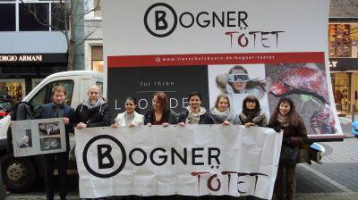 30.01.2016 Pressetermin vor Bogner-Filiale in Dortmund!