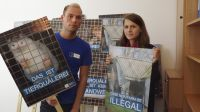 Ankündigung: Großdemonstration und Mahnwache in Rahden – Deutsches Tierschutzbüro e.V. fordert: Schließt endlich die letzte Pelzti