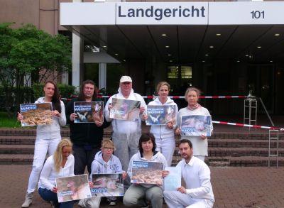 Außergewöhnliche Tierschutzaktion von Landgericht Köln sorgte für Aufsehen