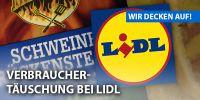 Deutsches Tierschutzbüro deckt auf: Verbrauchertäuschung bei LIDL