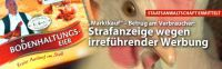 """Deutsches Tierschutzbüro e.V. hat """"Marktkauf"""" wegen Verbraucherbetrugs angezeigt– Staatsanwaltschaft Bielefeld ermittelt - Bodenha"""