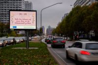 """Ab kommender Woche hängen die ersten Plakate des Deutschen Tierschutzbüros zu den """"Neuen Bauernregeln"""" in Berlin"""