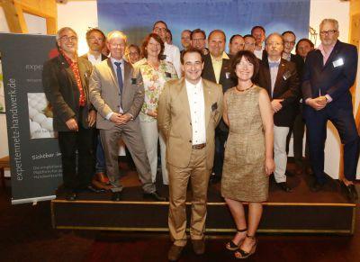 """Die Gastgeber des Expertennetz Handwerk freuen sich auf gute Projektideen für die Initiative  """"Meister ohne Grenzen"""""""
