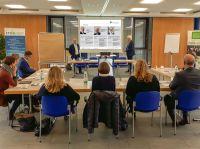 Workshop Employer Branding für das IT-Cluster Oberfranken mit Hans Ulrich Gruber (l.) und Wolfgang Andrich (r.).