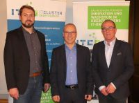 Gewählt: (v.l.) Mario Mages, IGZ Bamberg GmbH, Hans Ulrich Gruber, ihrpersonalberater, Thomas Feike, VLEXsoftware+consulting gmbh.