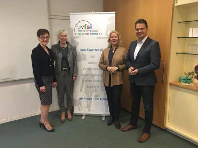 v.l. Anne Helen Wiese, Petra Schreiber, Birgit A. Eggerding, Bernd Braun