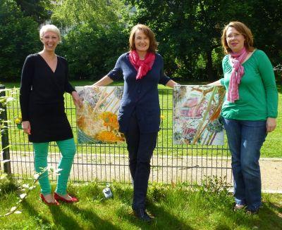 Gründungsmitglieder d. stilsicher-Netzwerks: Stephanie Jana, Simone Blaschke, Ursula Kollritsch